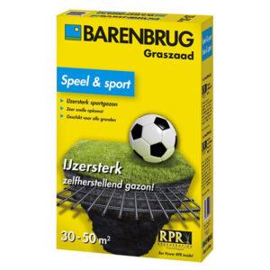 Barenbrug Bar Power RPR speel sport speelgazon graszaad 1kg