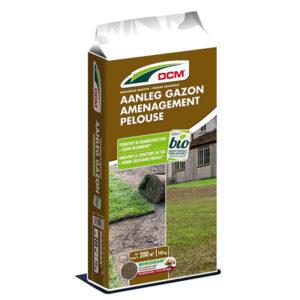 DCM Aanleg gazon 10kg aanlegmest graszoden leggen graszaad zaaien