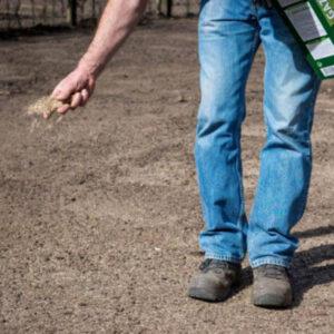 DCM Aanleg gazon aanlegmest graszoden leggen graszaad zaaien