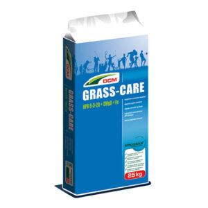 DCM Grass Care 25kg gazonmest najaar meststof voor gras gazonbemesting 01