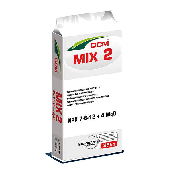 DCM MIX 2 tuinmest 25 kg - 250 m²