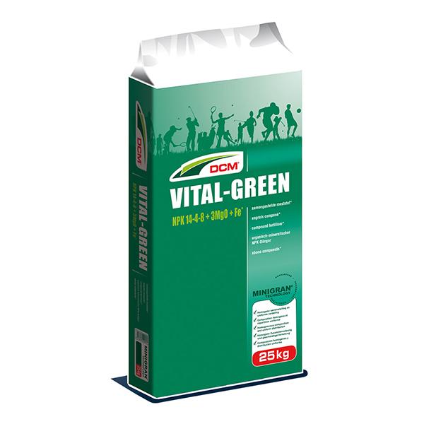 DCM Vital Green gazonmest 25 kg – 600 m²